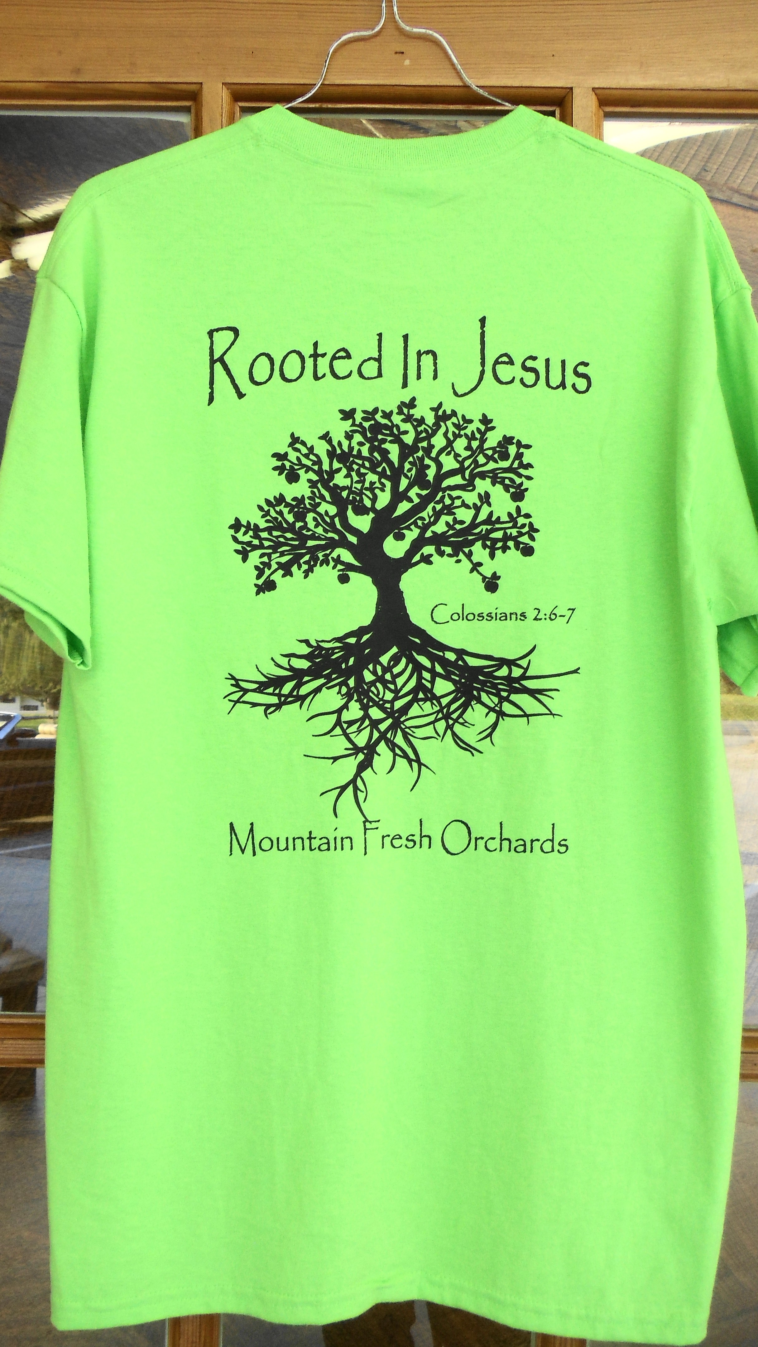 2015 T Shirt Design Mountain Fresh Orchards